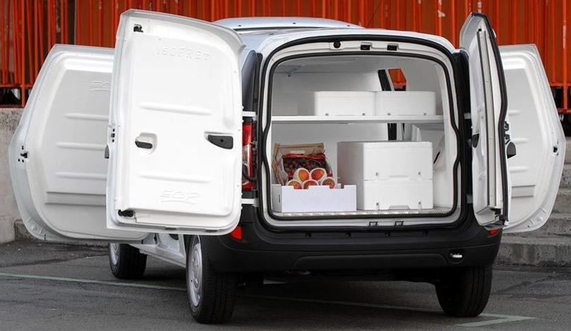 Fiat Doblò coibentato e refrigerato per il trasporto di alimenti