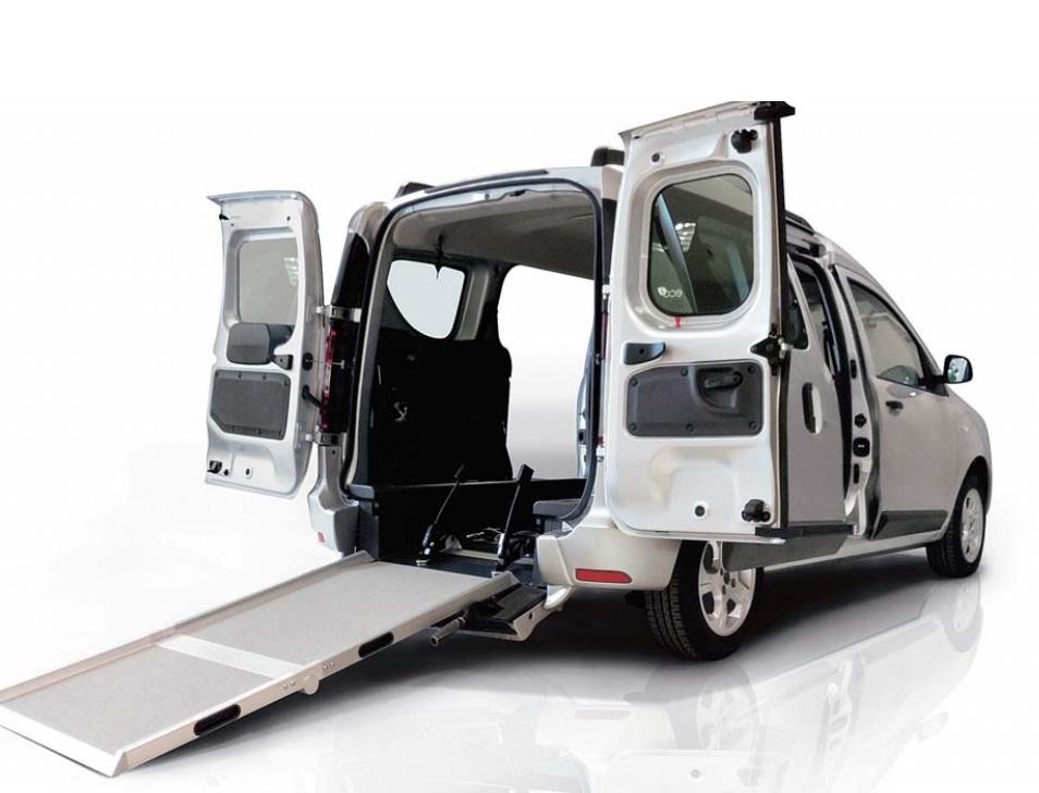 Fiat Doblo Maxi Trasporto Disabili Pronta Consegna con rampa movia