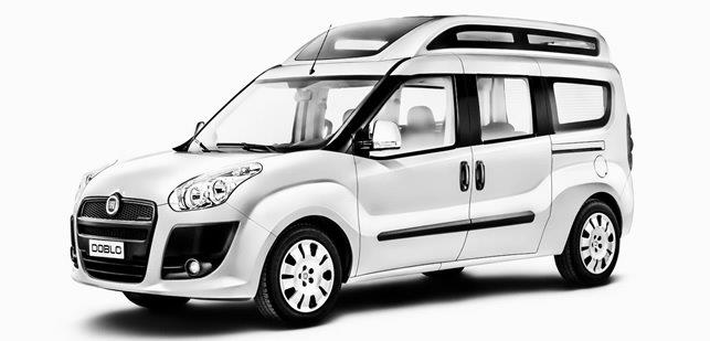 Fiat Doblò per disabili pronta consegna